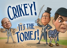 Crikey! It's the Tories