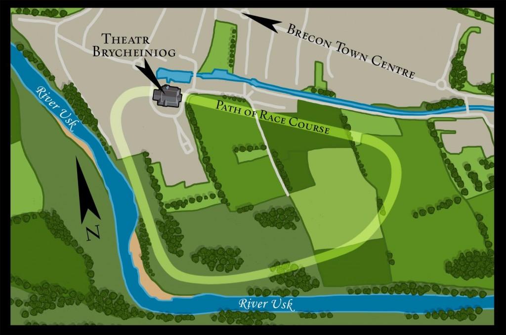 Brecon racetrack